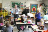 Seth Runyon of Talbott Elementary, 2nd Grade, Gets Suprise Visit From Appalachian Electric