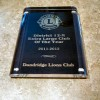 Dandridge Lions Club Extra Large Club Award