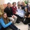 Carson-Newman students bring warmth to Children's Hospital patients