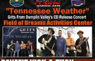 """GRITS """"Tennessee Weather"""" CD Release Concert & Benefit Kick-a-Thon, April 13, 2013"""