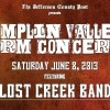 LOST CREEK  June 8th at Dumplin Valley Concert Series