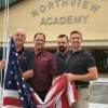 Northview Academy Receive American Flag, Courtesy of Modern Woodmen
