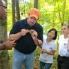 MTSU researchers dig for ginseng in East Tennessee
