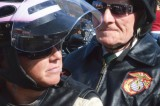 Veterans and Bikers Unite In Annual Toys For Tots Ride
