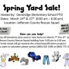 Dandridge Elementary School Spring Yard Sale, March 14 & 15, 2014 – Jefferson County Rescue Squad