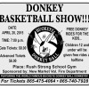 Donkey Basketball Show at Rush Strong School Gym, April 20, 2015