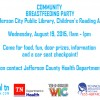Community Breastfeeding Party, Jefferson City Public Library, August 19, 2015