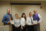 Morristown Police Department Presents Detectives Bowman and Hurst with Detective of the Year Awards