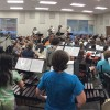 JCHS Band Hard at Work for the New Year