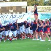 Patriots Swat Hornets in Home Opener, 40-22