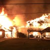 Large Fire Early Friday At Luxury Log Home Builder