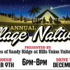 Annual Village Nativity Presented By Churches Of Sandy Ridge At Hills Union United Methodist, December 9 & 10, 2016