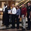 Morristown Police Department Recognized with Plaque from Breath of Life Ministries