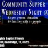 Central Heights Baptist Church Community Supper, March 8, 2017