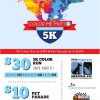 Color Me Mutt 5K Color Run & Pet Parade, May 13, 2017