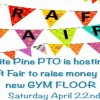 White Pine PTO Hosts Craft Fair to Replace Gym Floor