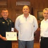 Morristown Police Department Officer Helton Receives Life Saving Award