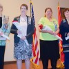 Members of the Martha Dandridge NSDAR Honored