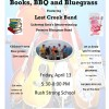 Parrott-Wood Memorial Library Books, BBQ, and Bluegrass