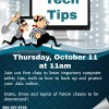 Tech Tips Class at Dandridge Memorial Library October 11