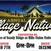 Annual Village Nativity Presented by The Churches of Sandy Ridge at Hills Union United Methodist, December 7, 2018