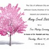 Tree Planting Ceremony Honoring the O'Briens March 14