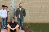 JCHS Dedicates Revolutionary Patriot Sculpture
