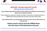 Maury and Jefferson County Multi – Class Reunion August 24