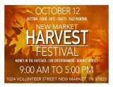 New Market Harvest Festival October 12