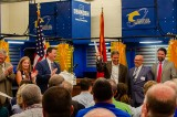 Welding at JCHS Brings Governor Lee and Other Dignitaries
