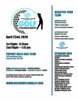 Boys & Girls Club of Dumplin Valley Golf Tournament, April 22, 2020