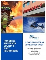 First Responders Appreciation Lunch, March 26, 2020