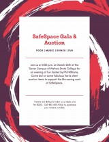 SafeSpace Gala & Auction, March 26, 2020