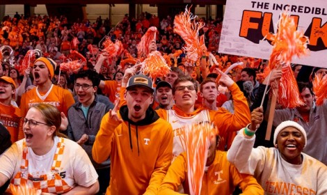 Tennessee Takes Top Honors for Combined Hoops Attendance