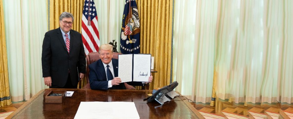 President Trump signs order to fight online censorship