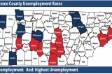 Unemployment Rates Decrease in Every Tennessee County