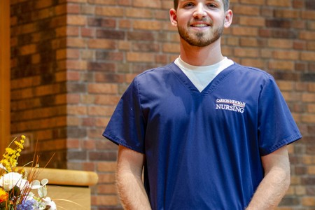 Carson-Newman nursing students receive 'Blessing of the Hands'