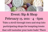 Sip & Shop In Downtown Dandridge, Feb 13, 2021