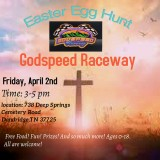 Easter Egg Hunt at Godspeed Raceway, April 2, 2021