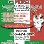 Dandridge Pizza and More Ad