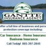 Gantte Insurance Ad