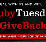 Ruby Tuesday Give Back Coupon JCHS Baseball Diamond Club ad 02162013