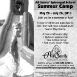 AES Summer Camp Ad 05192013