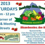 Dandridge Farmers Market strawberries 05232013