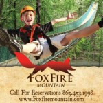 Fox Fire Mountain Zip Lines Memorial Day Ad 05212013