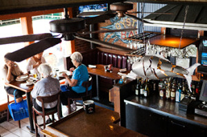 The Crab House is home of great seafood at a reasonable price.