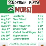Dandridge Pizza Friday Night Live thru Sept 2013