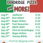 Dandridge Pizza TGIFF 08092013