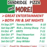 Dandridge Pizza Entertainment 09242013