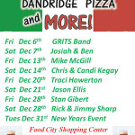 Dandridge Pizza TGIFF thru 12022013